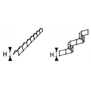 Ecarteur de nappes en Zigzag (en Z)